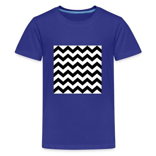 zigzag png - T-shirt Premium Ado