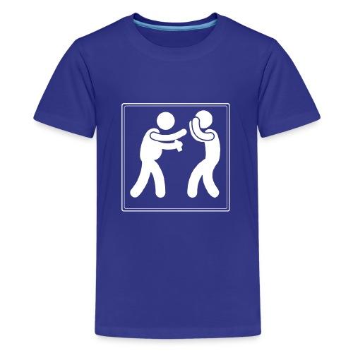 Boxen mit Bier - Teenager Premium T-Shirt