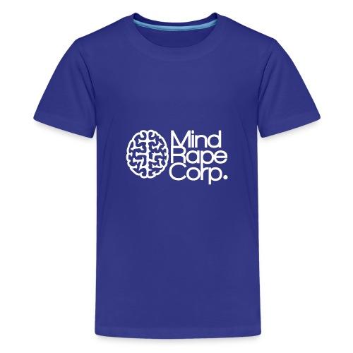MindRape Corp Snapback Hat Black-Gray - Teenage Premium T-Shirt