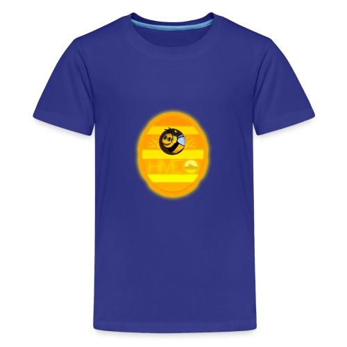 Herre T-Shirt - Med logo - Teenager premium T-shirt