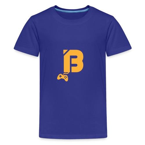 BOOYAH T-Shirt Oranje Logo - Teenager Premium T-shirt