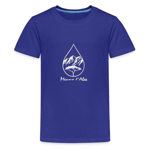 menno labee logo wit - Teenager Premium T-shirt