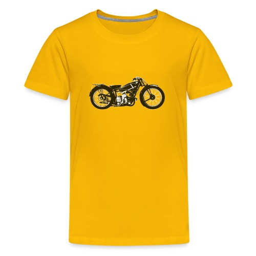 Classic Cafe Racer - Teenage Premium T-Shirt