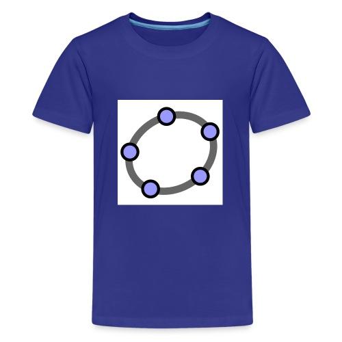 GeoGebra Ellipse - Teenage Premium T-Shirt