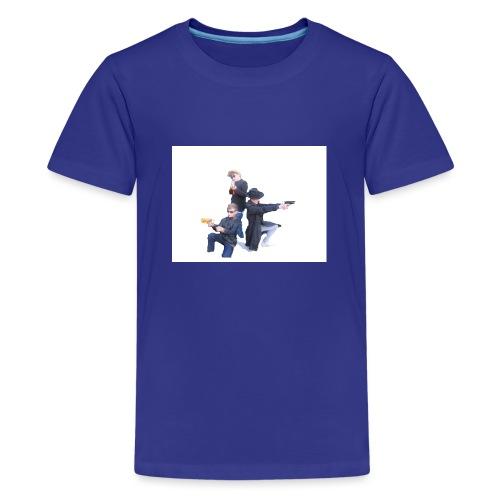 Plastic Tractor Arnmy - Teenage Premium T-Shirt