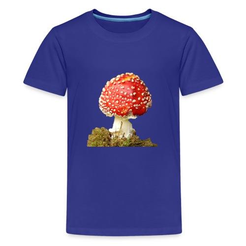 Der rote giftige Fligenpilz - Teenager Premium T-Shirt
