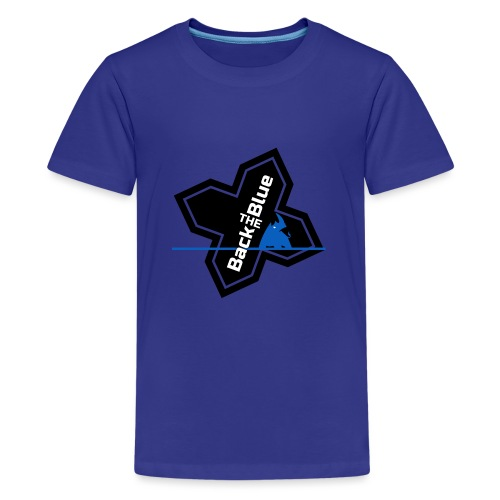 Back the Blue Rhinocross - T-shirt Premium Ado