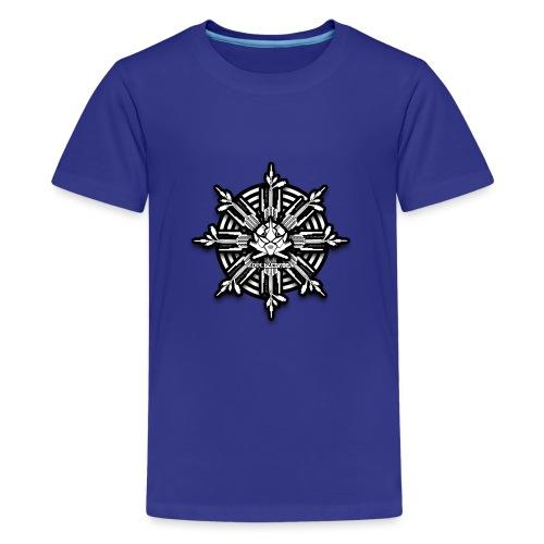 obm tech Cross - Teenager Premium T-Shirt