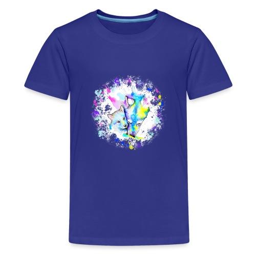 Loups - T-shirt Premium Ado