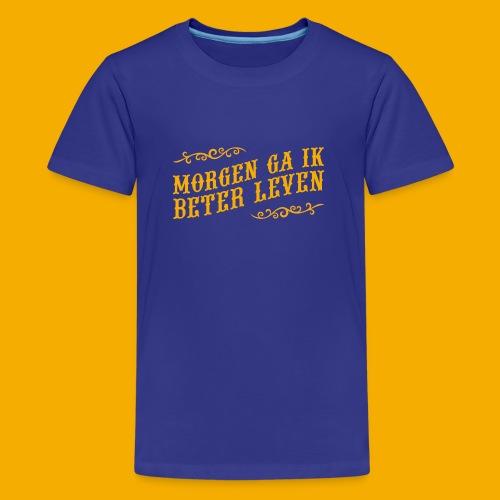 tshirt yllw 01 - Teenager Premium T-shirt