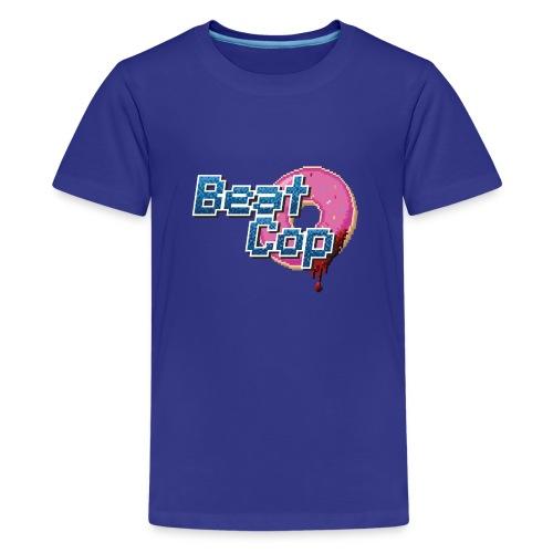 Logo_BeatCop - Teenage Premium T-Shirt