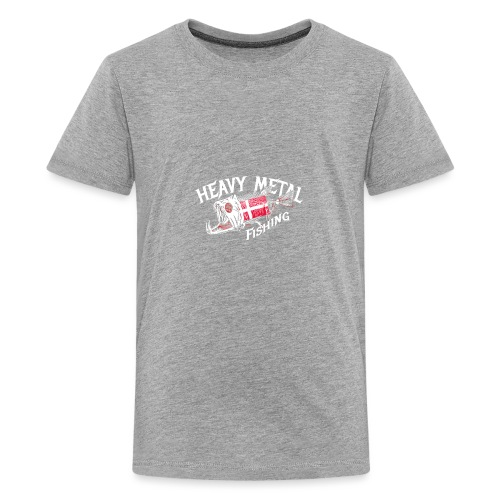 heavy metal fishing Dänemark - Teenager Premium T-Shirt