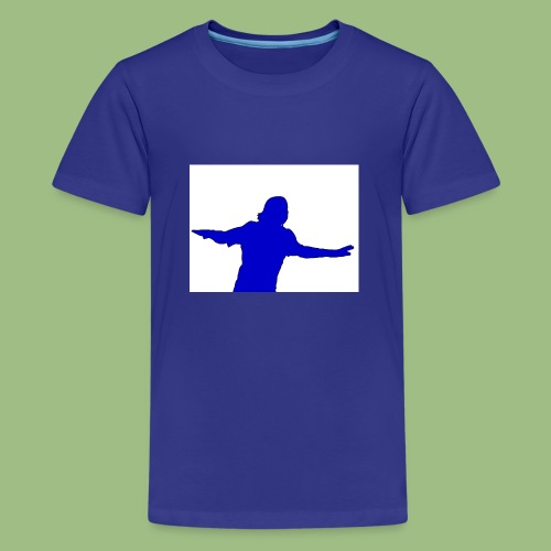 Drogba CFC - Premium-T-shirt tonåring
