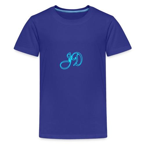 logo sinfondo gif - Camiseta premium adolescente