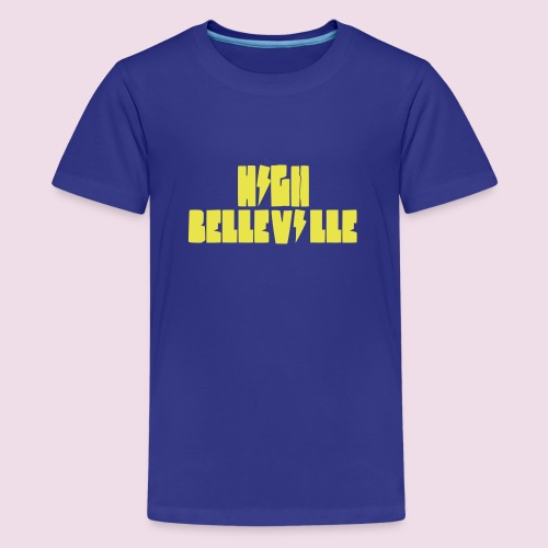 HIGH BELLEVILLE - T-shirt Premium Ado