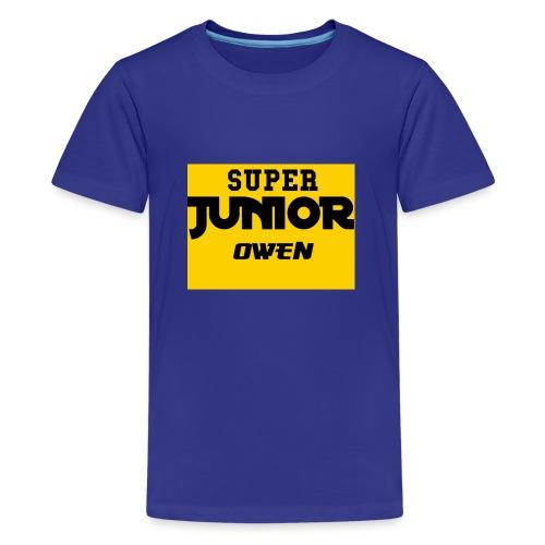SJO Big DF Text - Teenage Premium T-Shirt