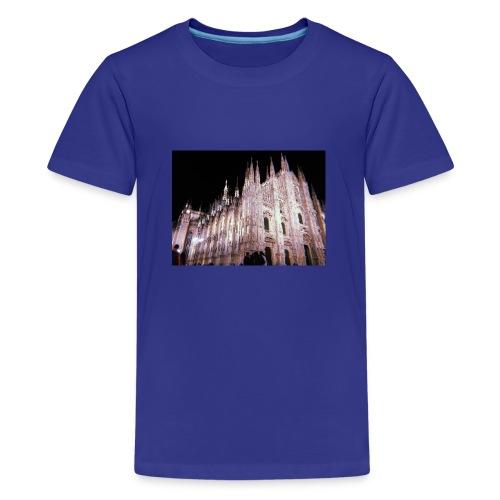 duomo di milano - Camiseta premium adolescente