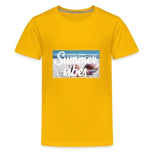 Summervibes - Teenager Premium T-Shirt