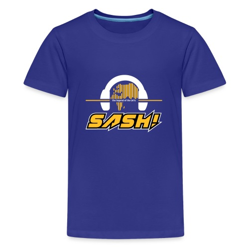 SASH! Logo 2020 Headfone - Teenage Premium T-Shirt
