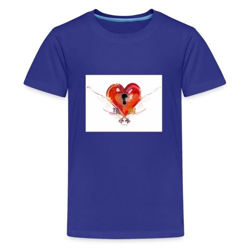 stvalentinmotif2 - T-shirt Premium Ado