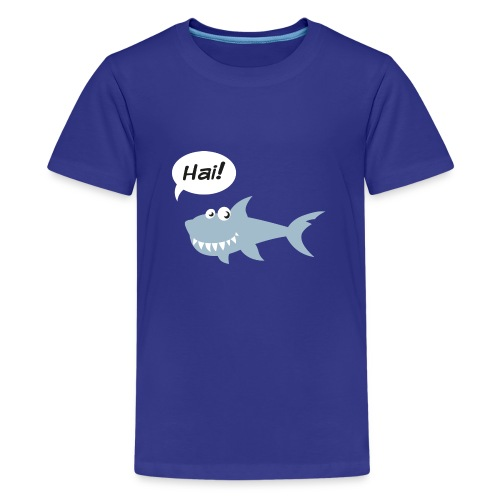 Hai! - Teenager Premium T-Shirt