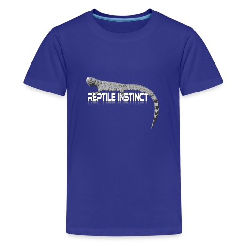 Reptile Instinct big - Teenage Premium T-Shirt