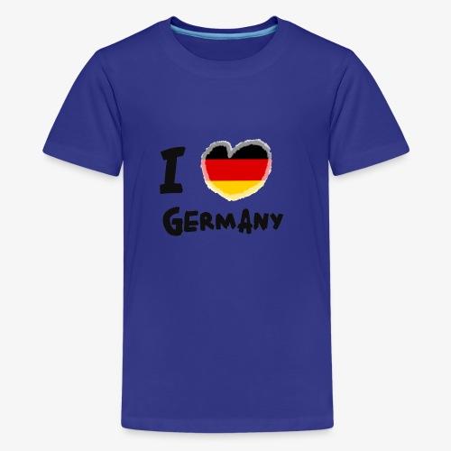 I Love Germany!!! - Teenager Premium T-Shirt
