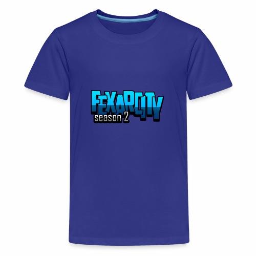 Logo FexarCityS2 - Maglietta Premium per ragazzi