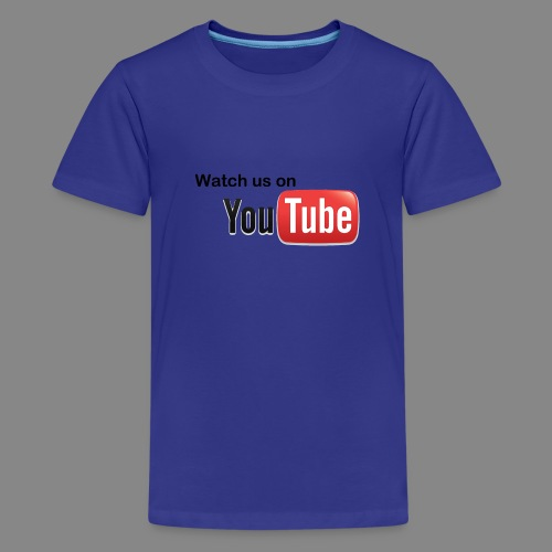 youtube hd logo by marcosrstone d37ot4e png - Teenager Premium T-shirt