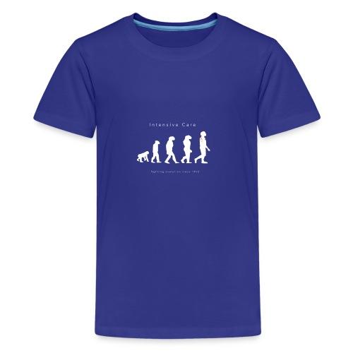 Intensive Care Fighting Evolution Since 1953 - Teenage Premium T-Shirt
