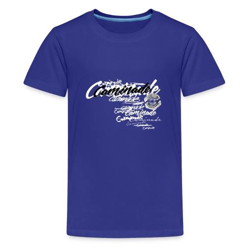 motif_caminade_trash4.png - T-shirt Premium Ado