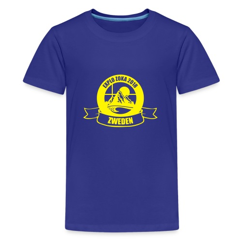 ZOKA Zweden - Teenager Premium T-shirt