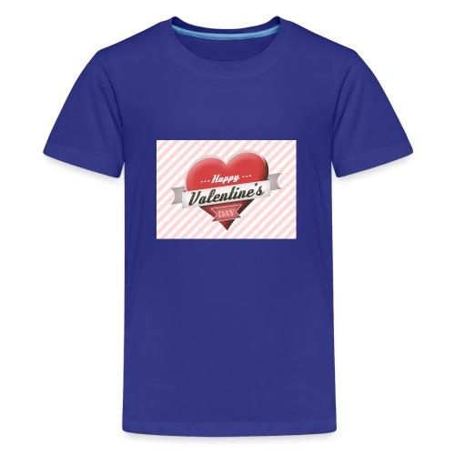 happy valentines day - Teenage Premium T-Shirt