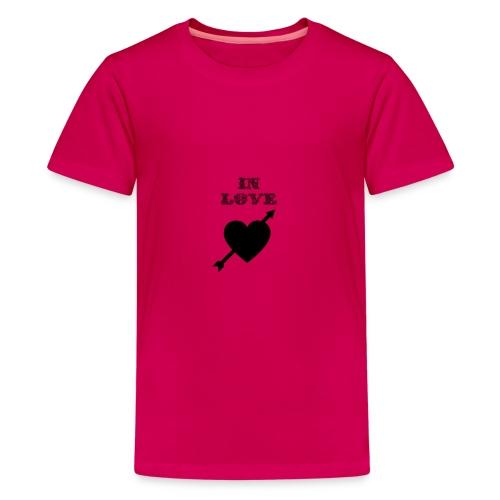 I'm In Love - Maglietta Premium per ragazzi