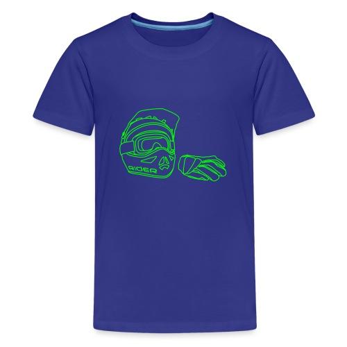 Rider - Teenager Premium T-Shirt