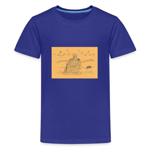 201412 affiche Spreadshirt 14 - T-shirt Premium Ado