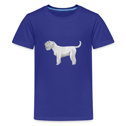 Soft Coated Wheaten Terrier - Teenager premium T-shirt