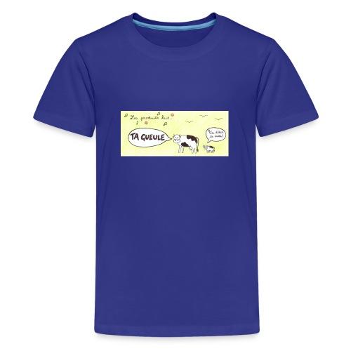 Vache pas laitière - T-shirt Premium Ado
