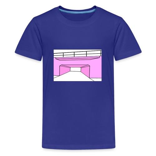 Pink Tunnel - Premium-T-shirt tonåring