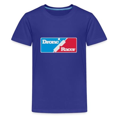 Drone Racer - Teenager Premium T-shirt