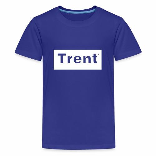 TRENT classic white block - Teenage Premium T-Shirt