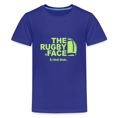 the face of rugby - T-shirt Premium Ado