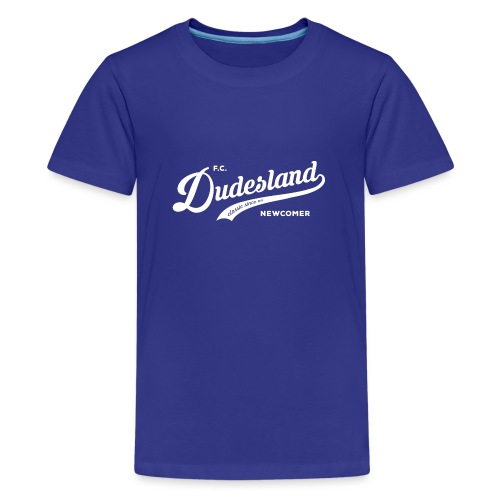 Dudesland-Newcomer_dr_Zei - Teenager Premium T-Shirt