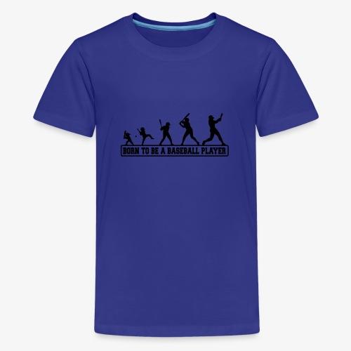 Born baseballt shirt - T-shirt Premium Ado