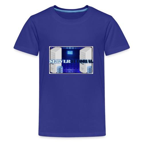 Server Tutorial - Maglietta Premium per ragazzi