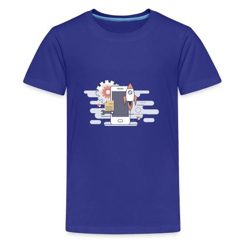 Mobile dev! - Koszulka młodzieżowa Premium