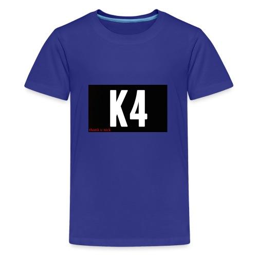 K4 KRISP 4EVER MERCHANDISE - Teenage Premium T-Shirt