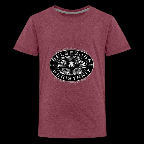 Belsebub&Perisynnit - Teinien premium t-paita