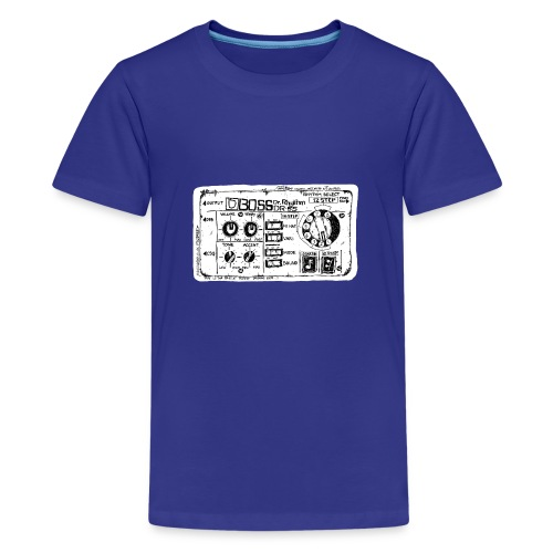 Drum Machine's R Ace! - Teenage Premium T-Shirt