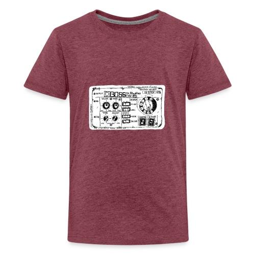 Drum Machine's R Ace! - Teenage Premium T-Shirt